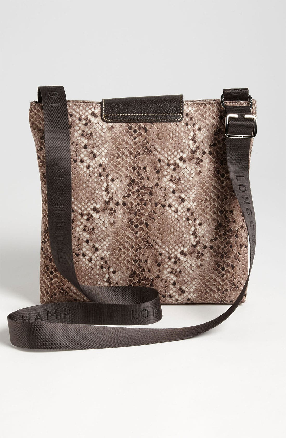 Alternate Image 4  - Longchamp 'Le Pliage' Python Print Crossbody Bag