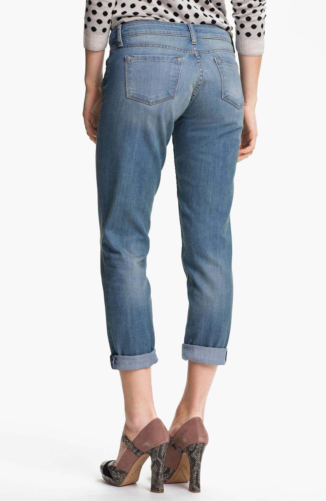 Alternate Image 2  - KUT from the Kloth 'Ingrid' Boyfriend Stretch Jeans