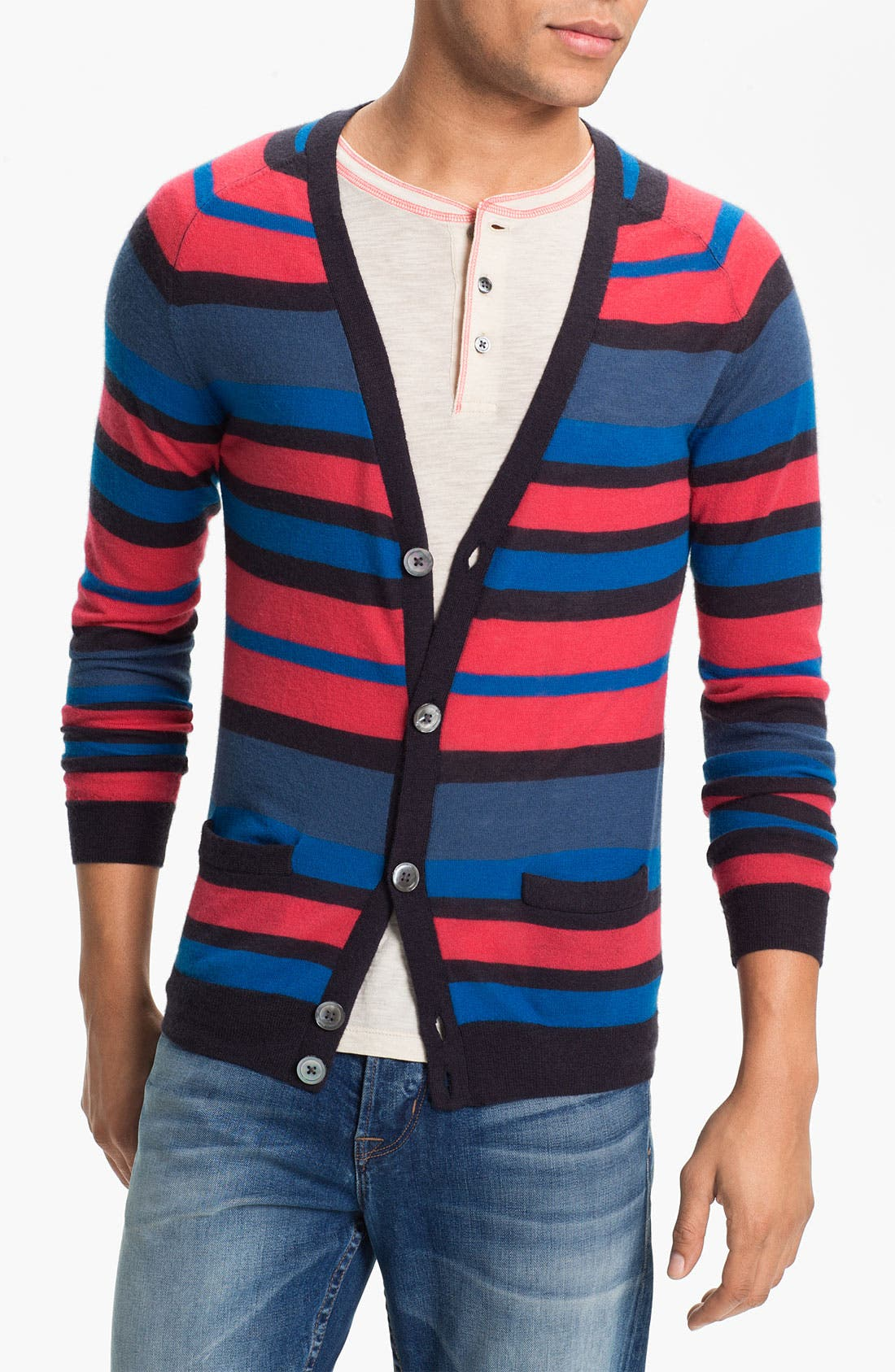Main Image - MARC BY MARC JACOBS 'Jerry' Cashmere Cardigan