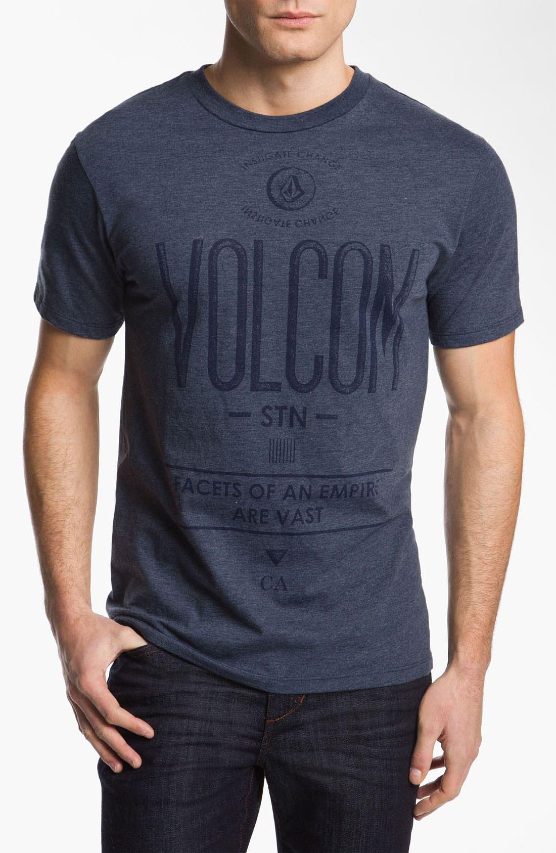 Alternate Image 1 Selected - Volcom 'Fontivarious' T-Shirt