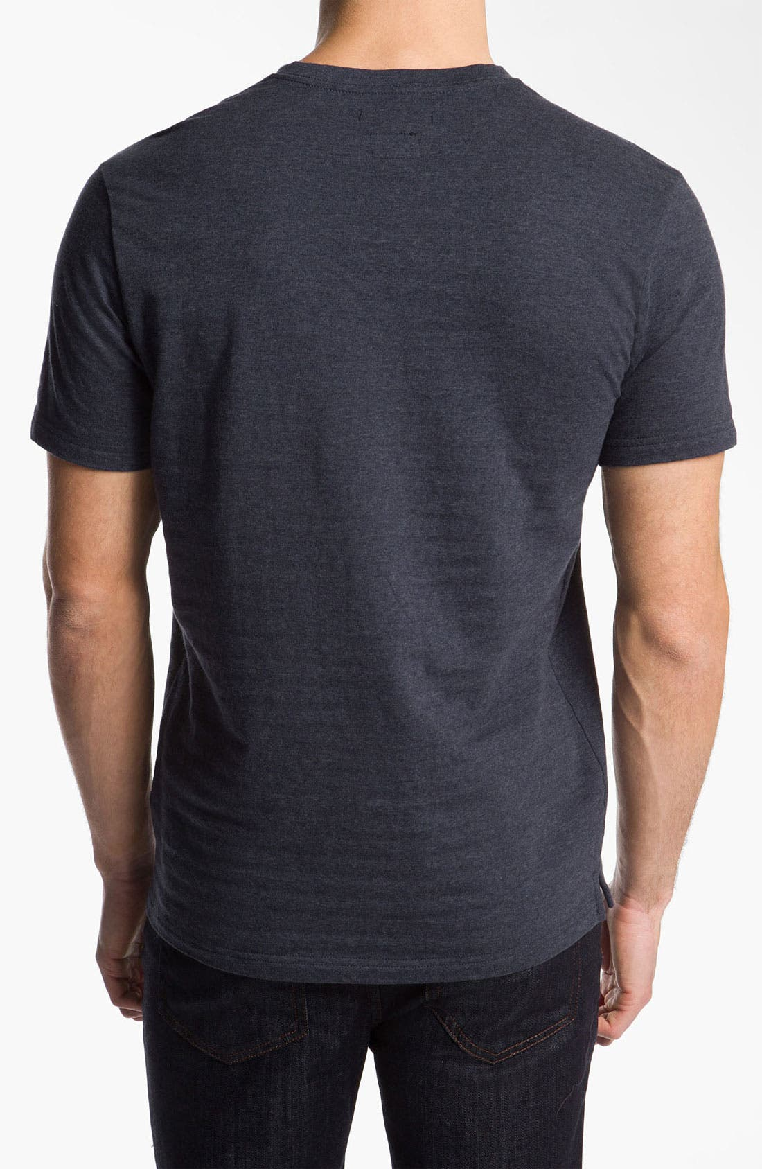Alternate Image 2  - RVCA 'Shopkeeper' Short Sleeve Henley T-Shirt