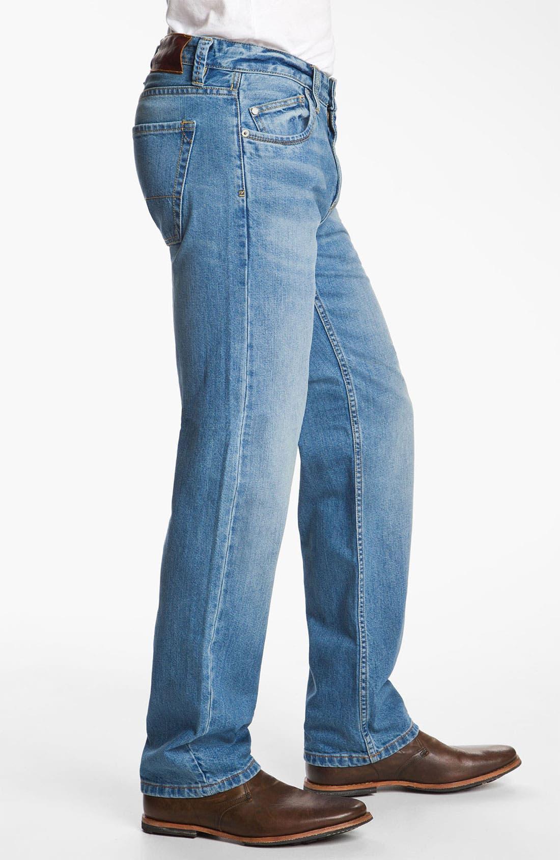 Alternate Image 3  - Tommy Bahama Denim 'Steve Standard Fit' Jeans (Storm)