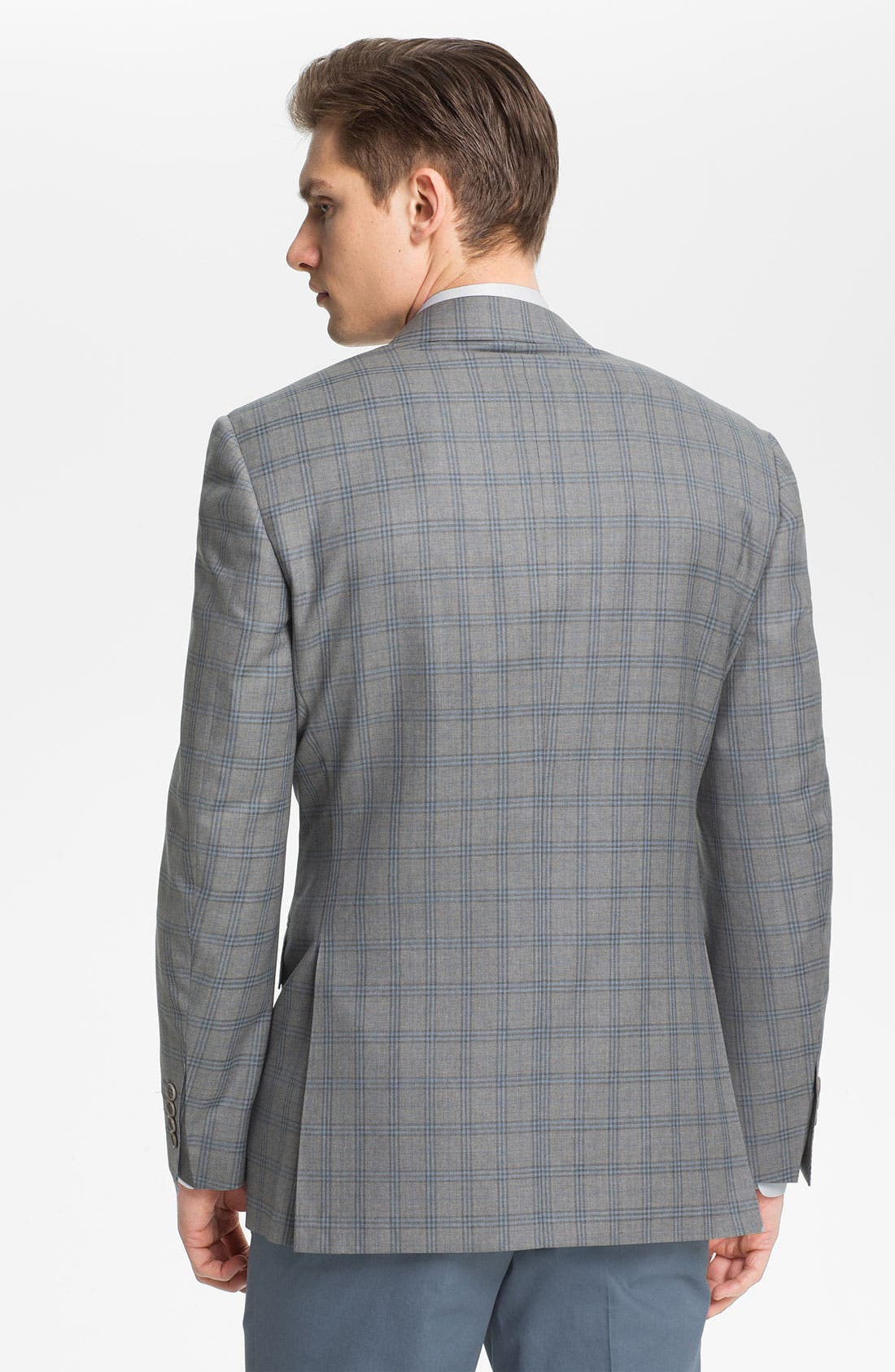 Alternate Image 2  - Canali Windowpane Sportcoat