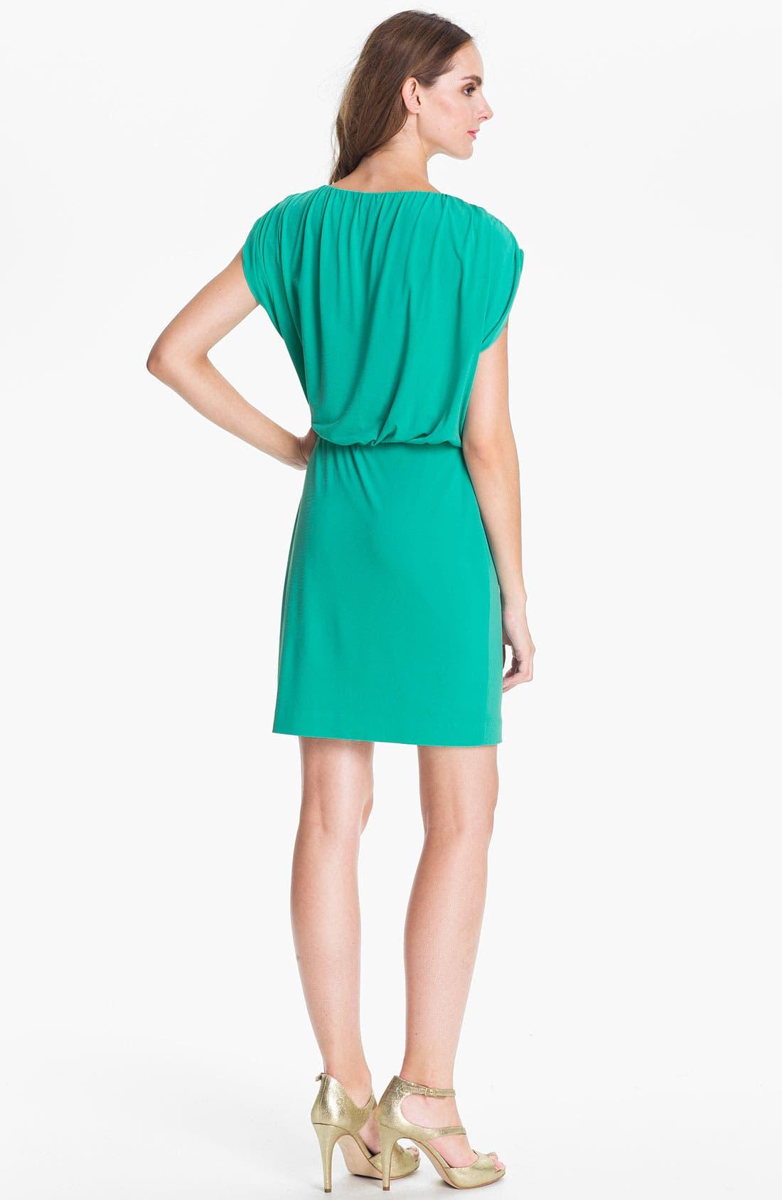 Alternate Image 2  - Trina Turk Embellished Blouson Jersey Dress