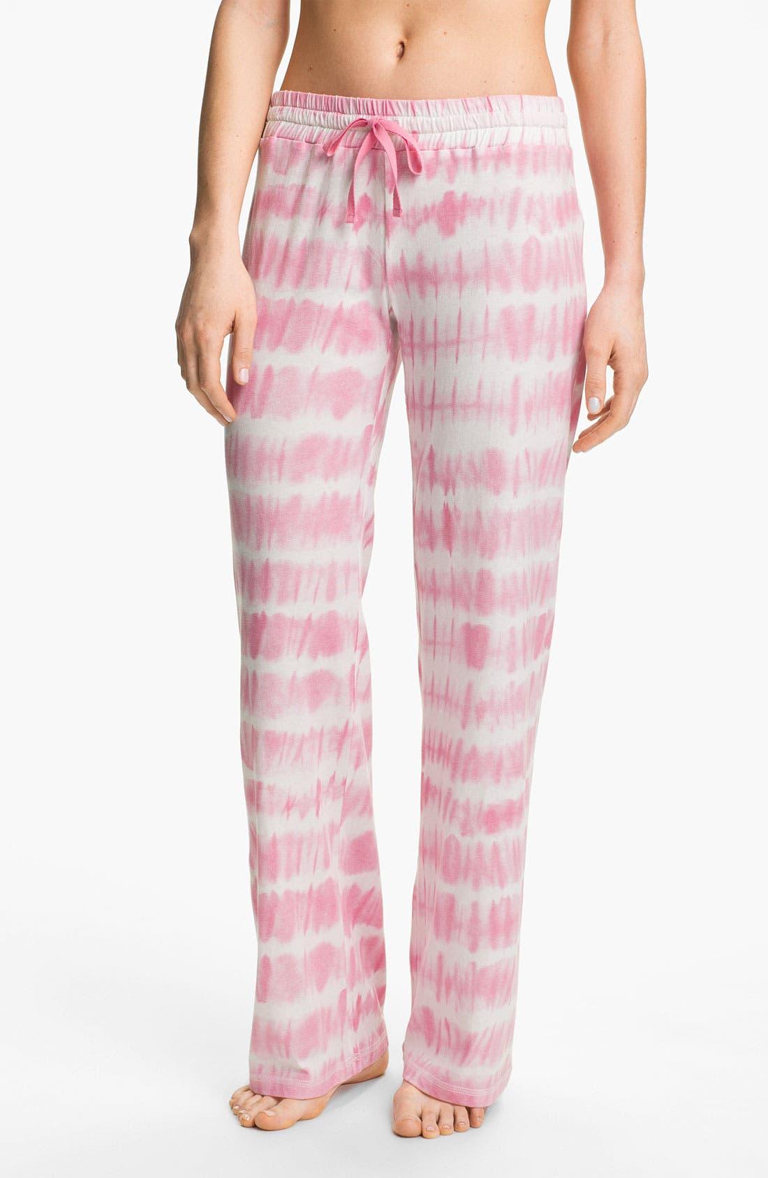 Alternate Image 1 Selected - PJ Salvage 'Pink Dyes' Pajama Pants