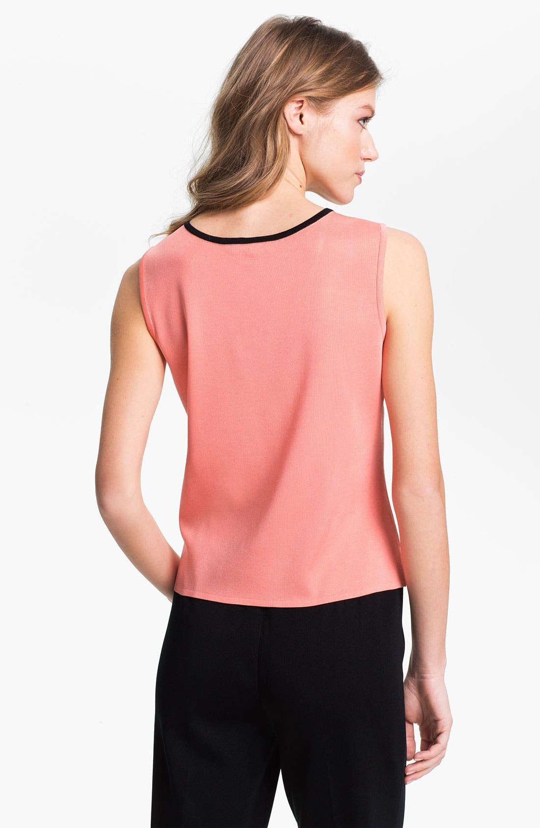 Alternate Image 2  - Ming Wang Piped Scoop Neck Tank