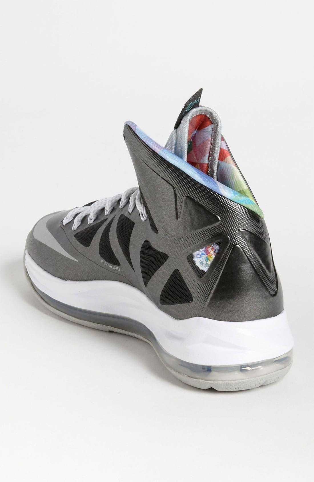 Alternate Image 2  - Nike 'LeBron X' Basketball Shoe (Men)