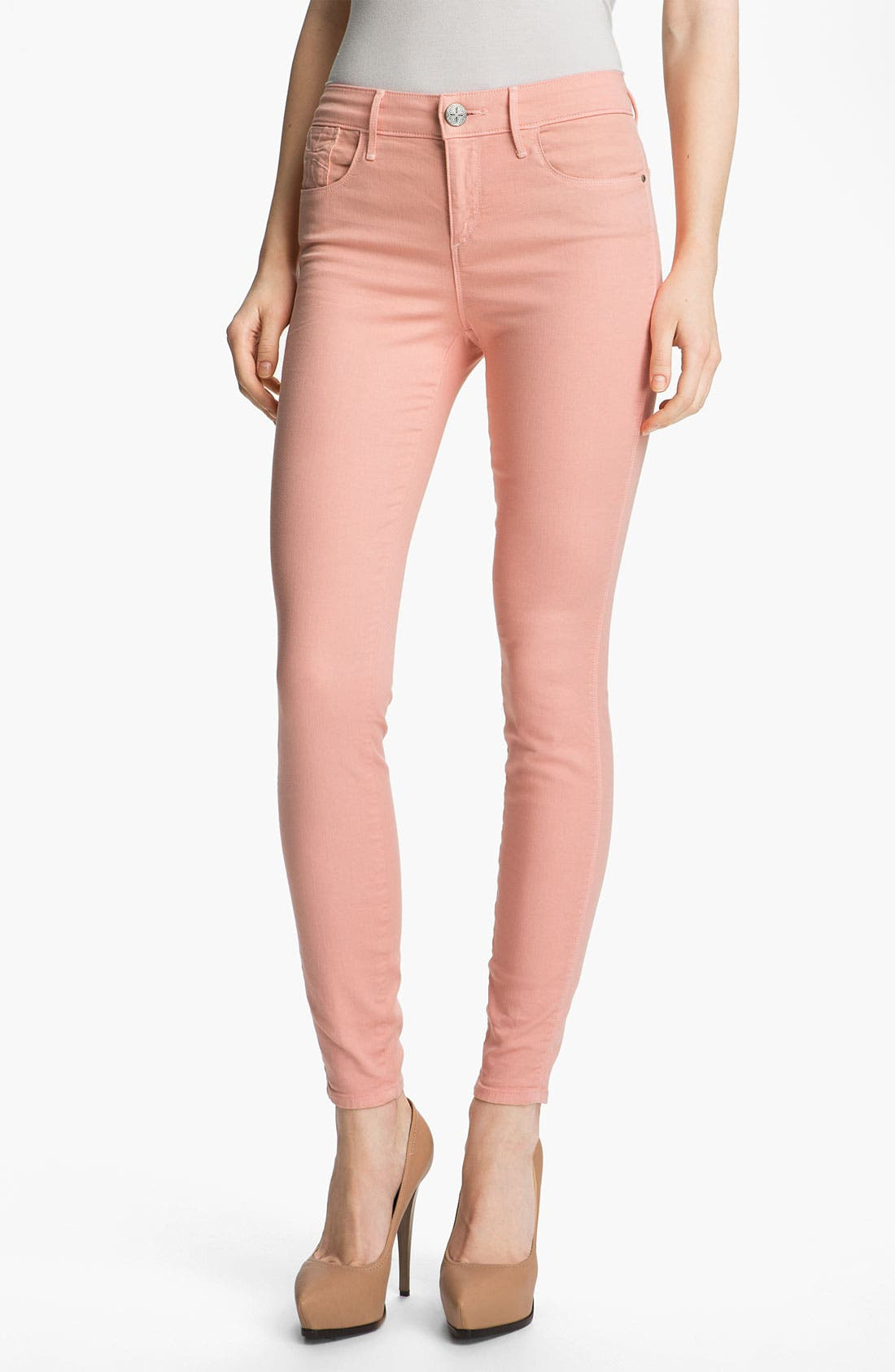 Alternate Image 1 Selected - Habitual 'Grace' High Rise Skinny Stretch Jeans
