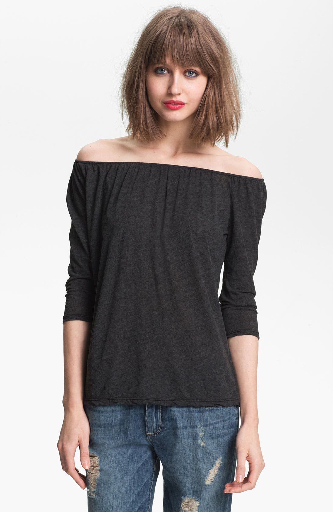 Alternate Image 1 Selected - James Perse Off Shoulder Top