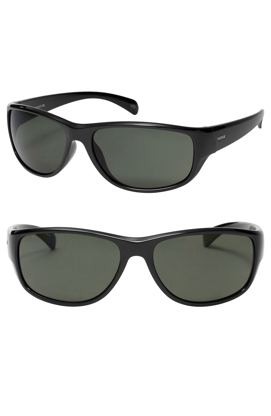 Alternate Image 1 Selected - Fossil 'Blake' 61mm Sunglasses