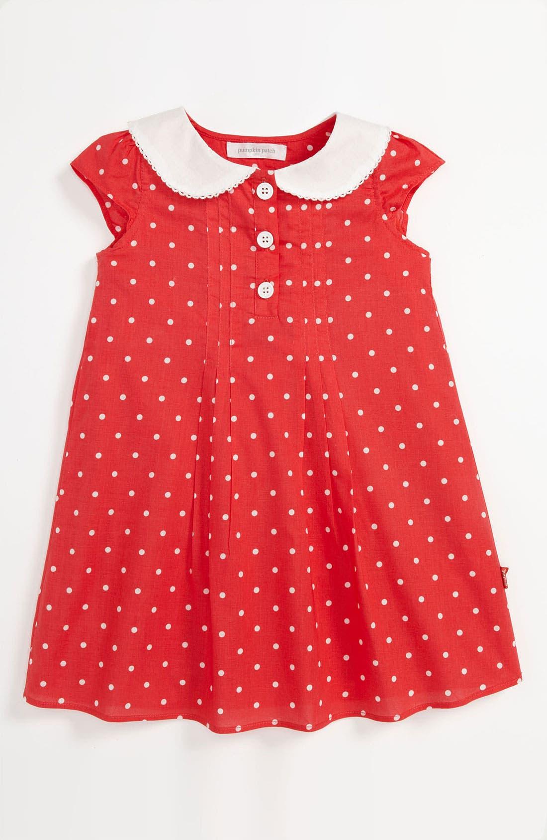 Alternate Image 1 Selected - Pumpkin Patch 'Alexa' Dress (Toddler)