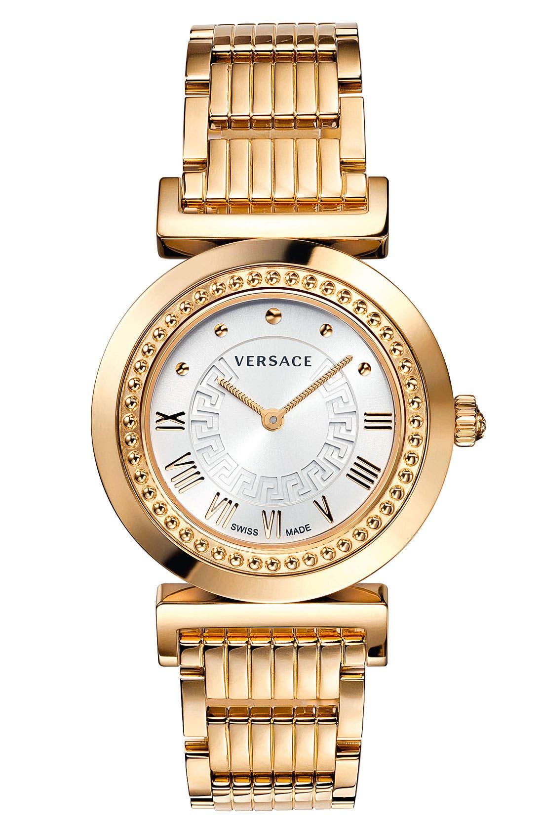 Alternate Image 1 Selected - Versace 'Vanity' Bracelet Watch, 35mm