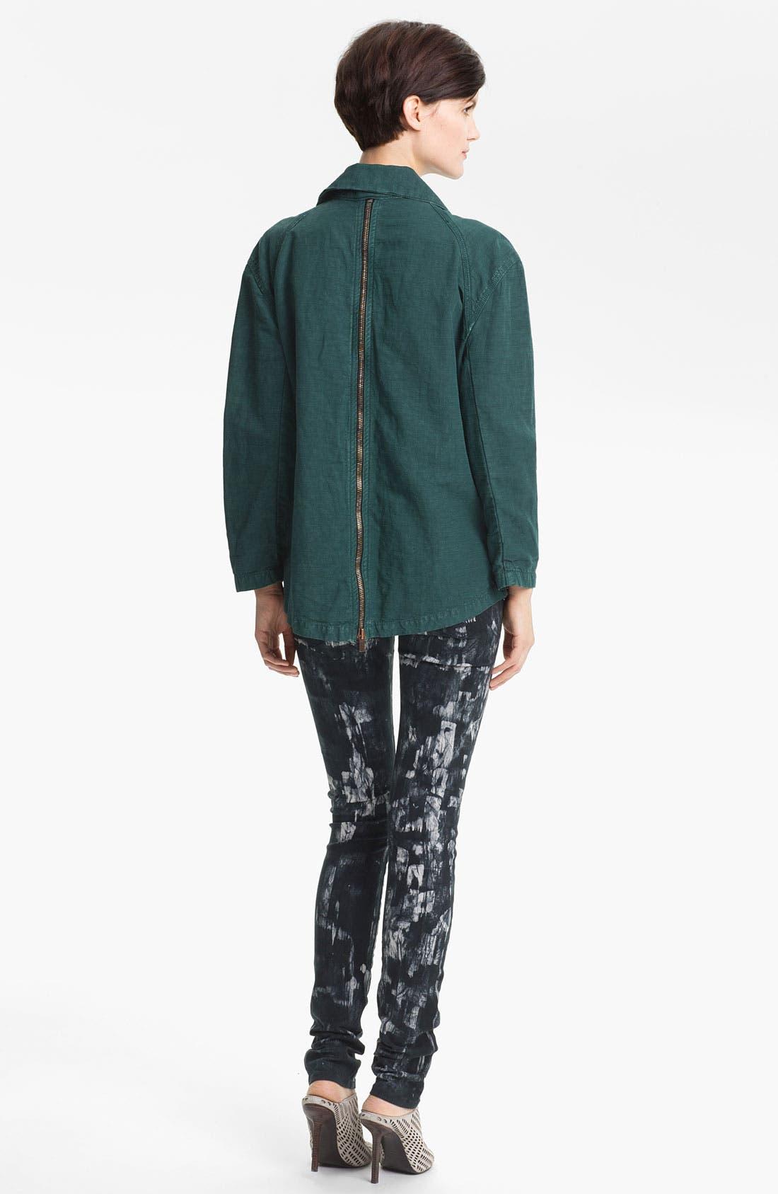 Alternate Image 4  - Kelly Wearstler 'Ornamented' Zip Detail Jacket