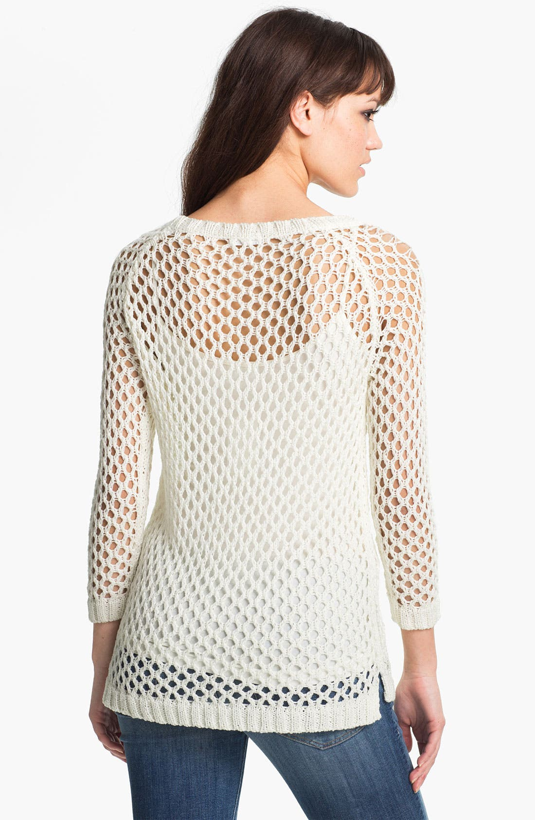 Alternate Image 2  - Soft Joie 'Addler' Net Knit Sweater