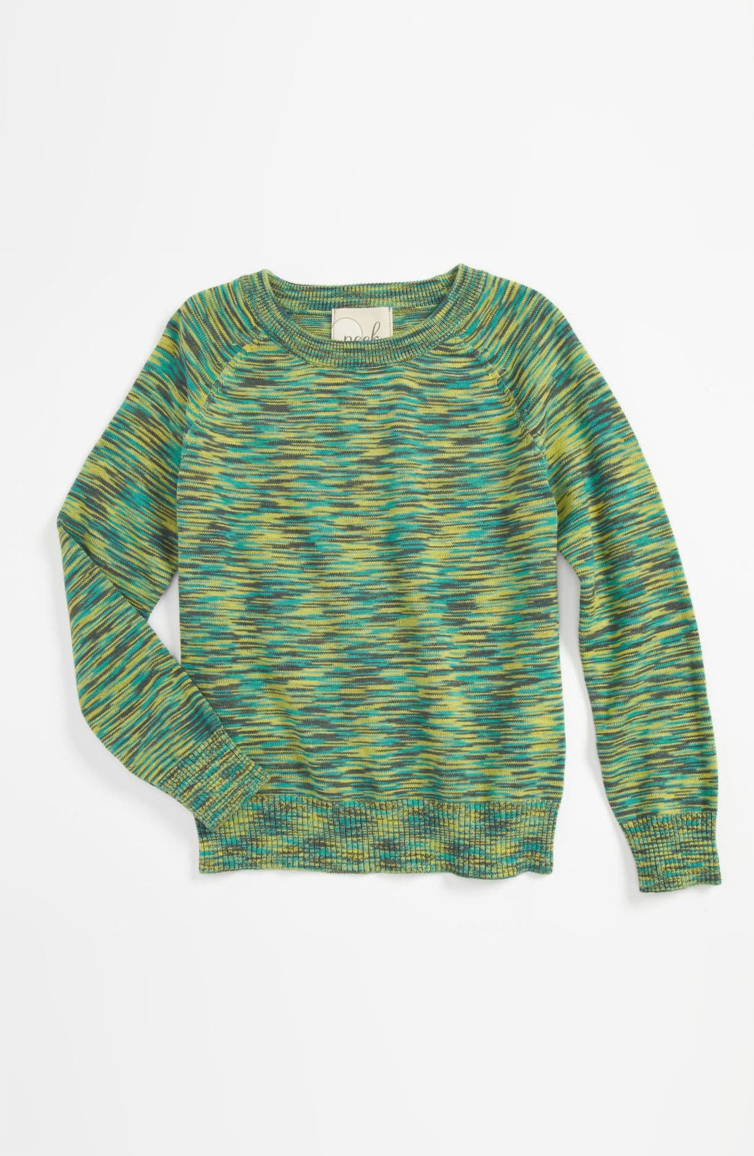 Alternate Image 1 Selected - Peek 'Susana' Crewneck Sweater (Toddler, Little Girls & Big Girls)