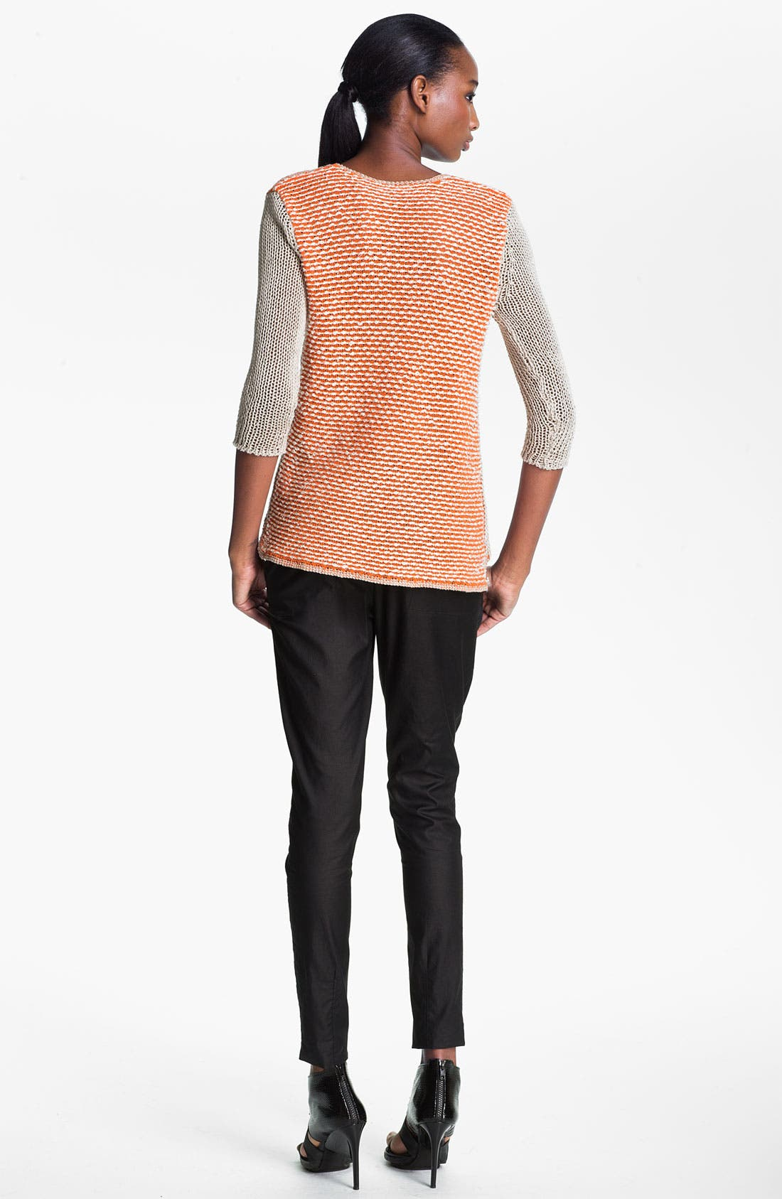 Alternate Image 4  - Helmut Lang 'Veiled' Colorblock Pullover