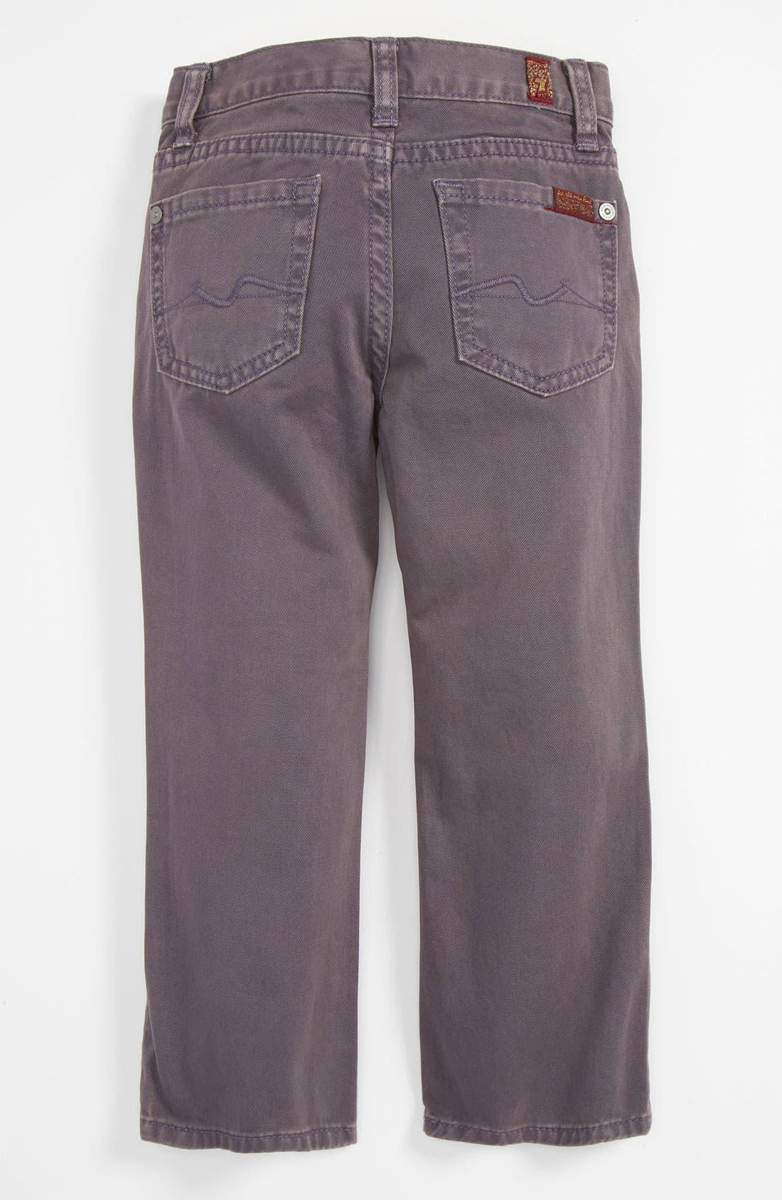 Alternate Image 1 Selected - 7 For All Mankind® 'Standard' Straight Leg Jeans (Toddler)