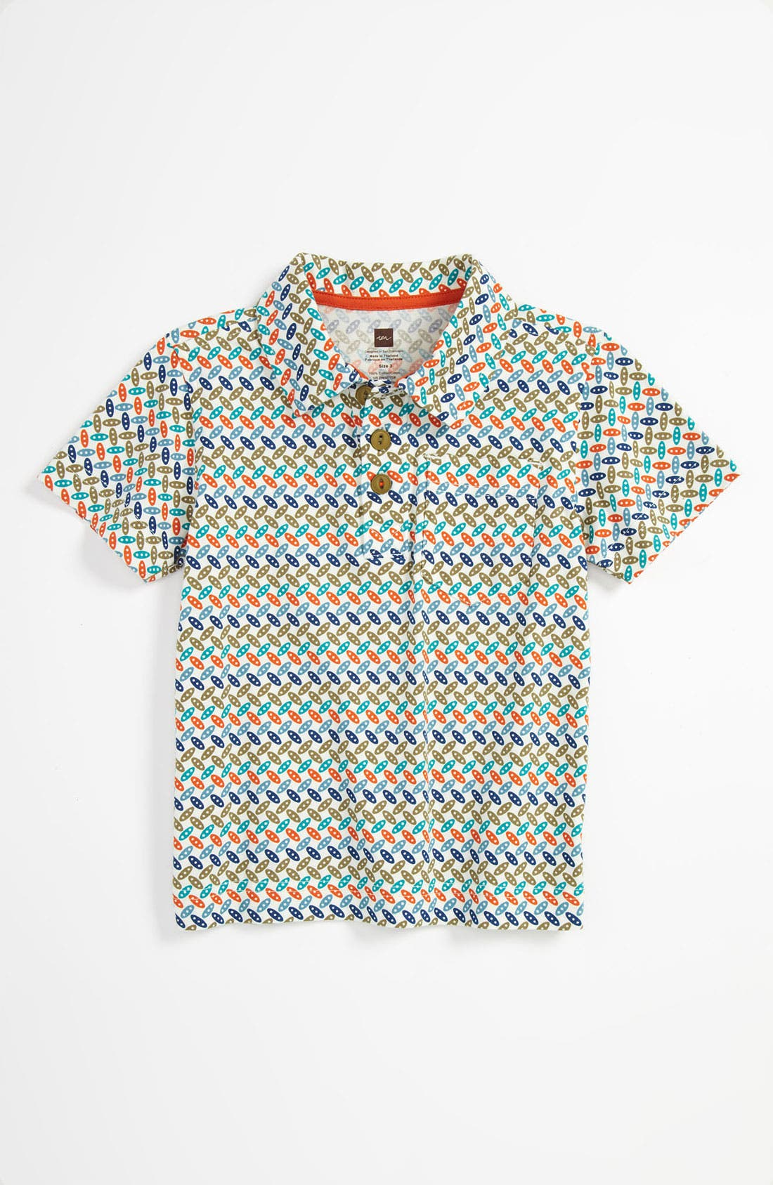 Alternate Image 1 Selected - Tea Collection Print Shirt (Baby)