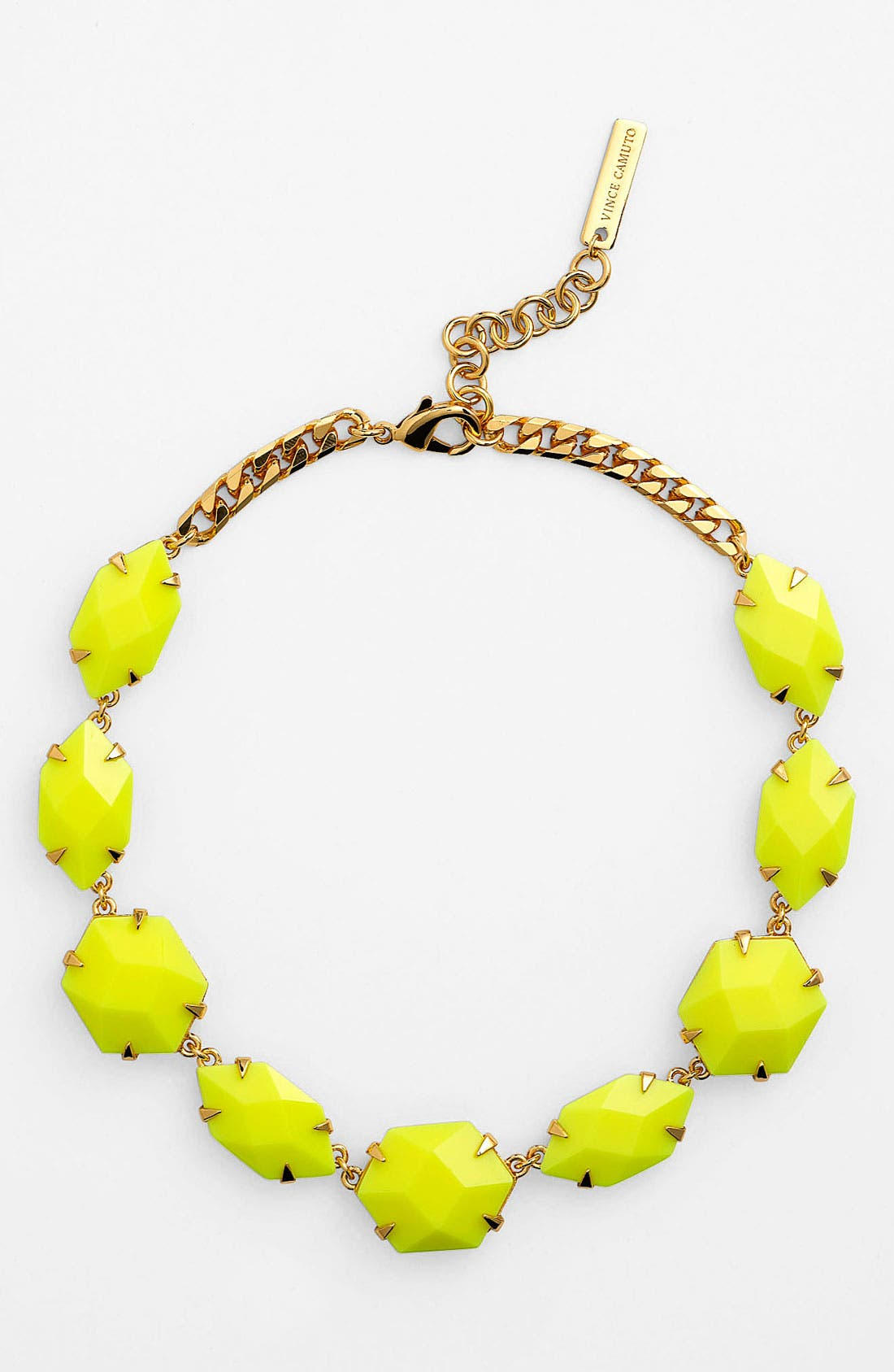 Alternate Image 1 Selected - Vince Camuto 'Bright Gems' Faceted Resin Collar Necklace