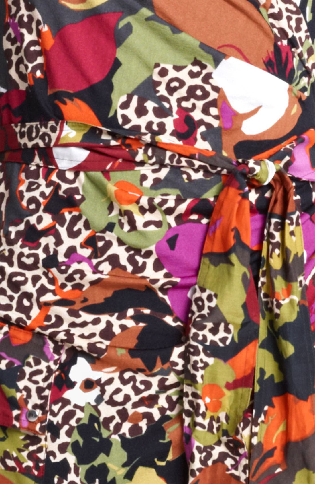 Alternate Image 3  - Max Mara Belted Floral Print Jersey Dress