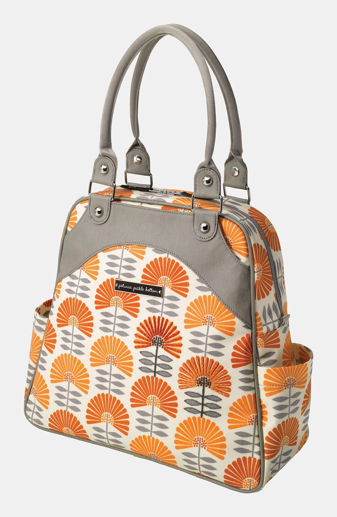 Alternate Image 1 Selected - Petunia Pickle Bottom Glazed Diaper Bag
