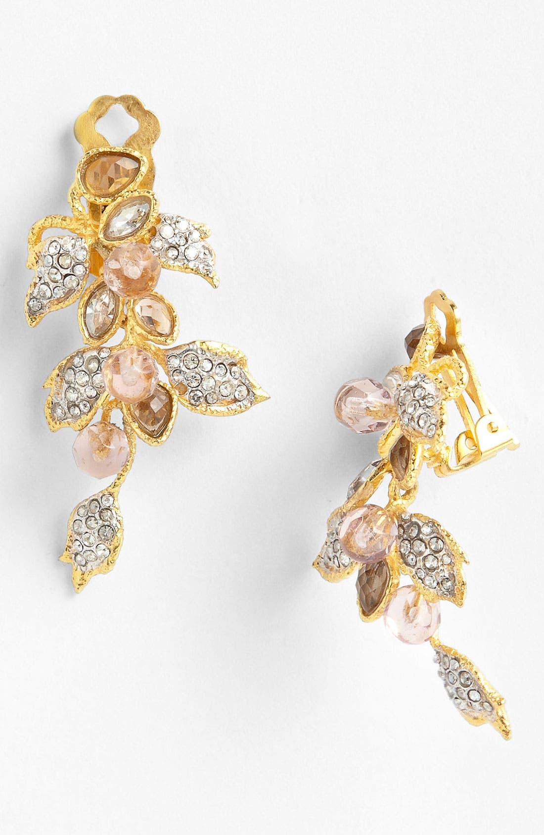 Main Image - Alexis Bittar 'Elements - Floral' Clip Cascade Earrings