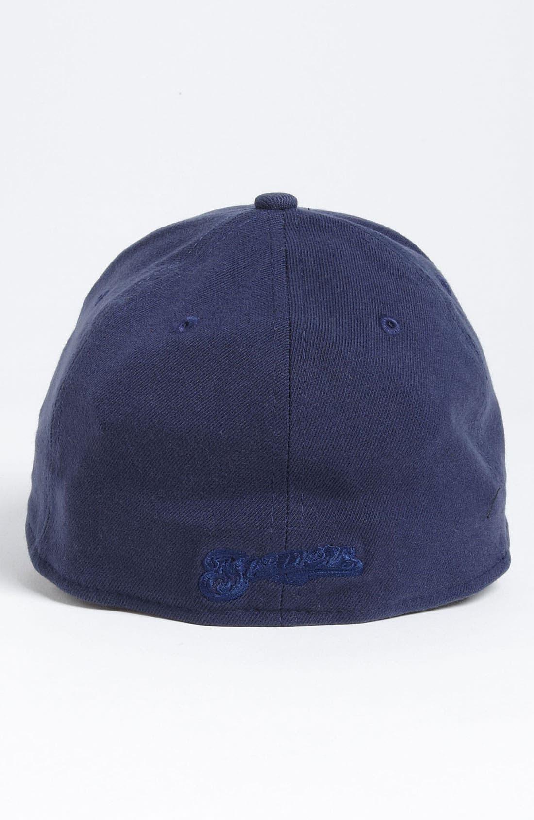 Alternate Image 2  - New Era Cap 'Tonal Classic - Milwaukee Brewers' Fitted Baseball Cap