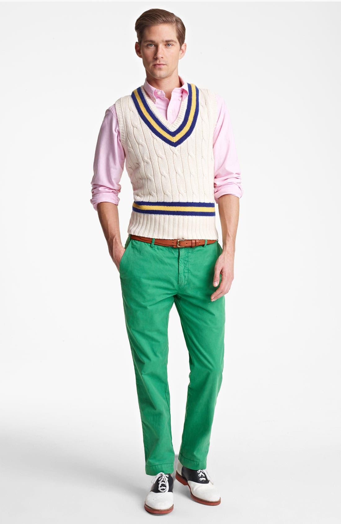 Alternate Image 4  - Polo Ralph Lauren V-Neck Sweater Vest