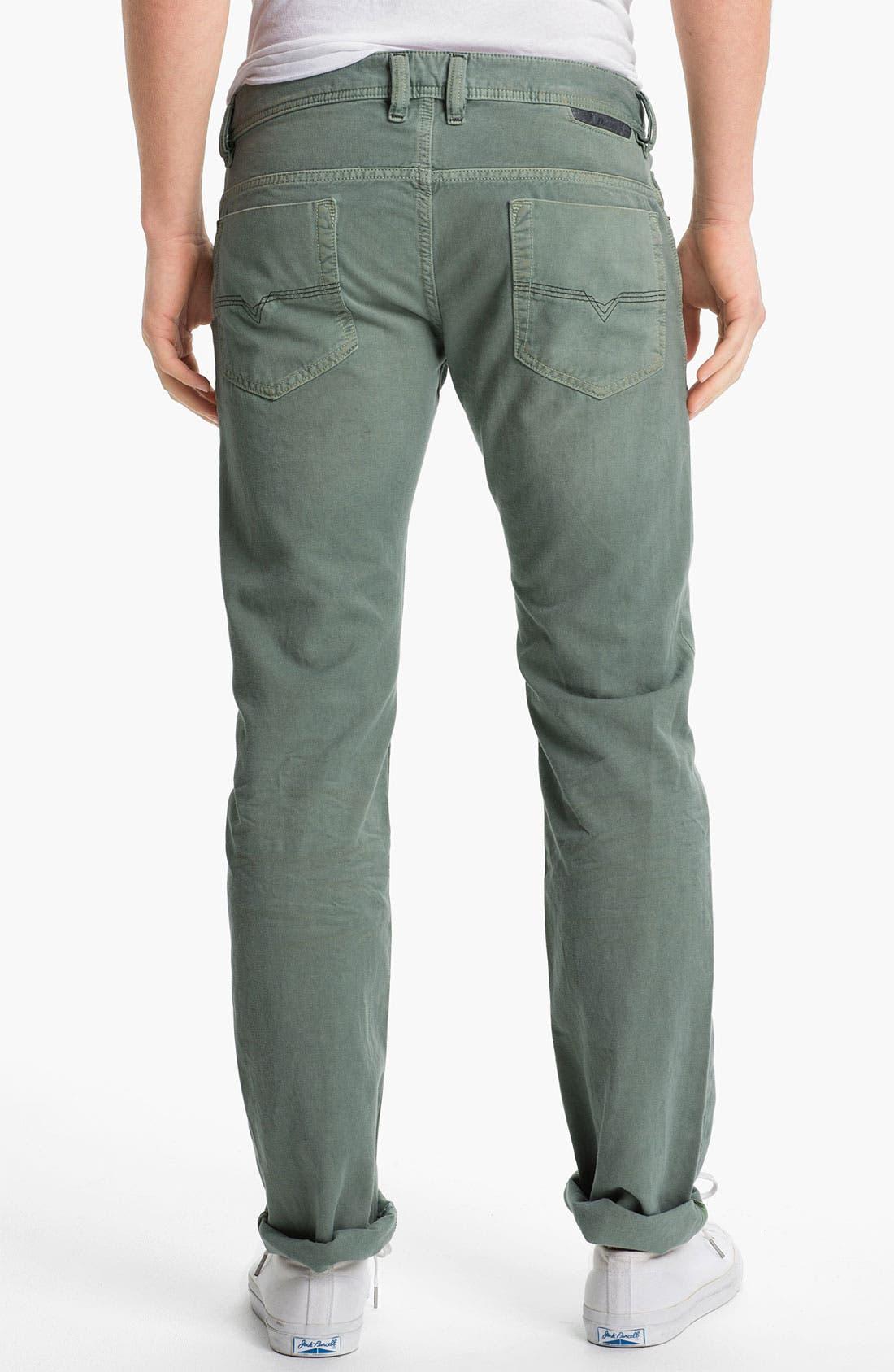 Alternate Image 1 Selected - DIESEL® 'Safado' Straight Leg Jeans