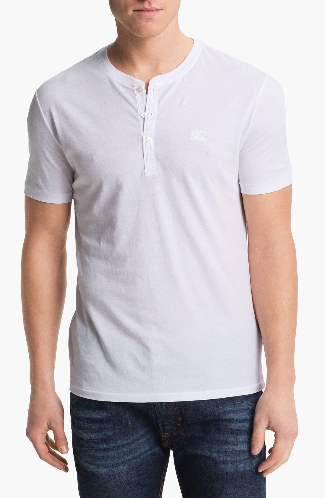 Main Image - Burberry Brit 'Errol' Henley T-Shirt