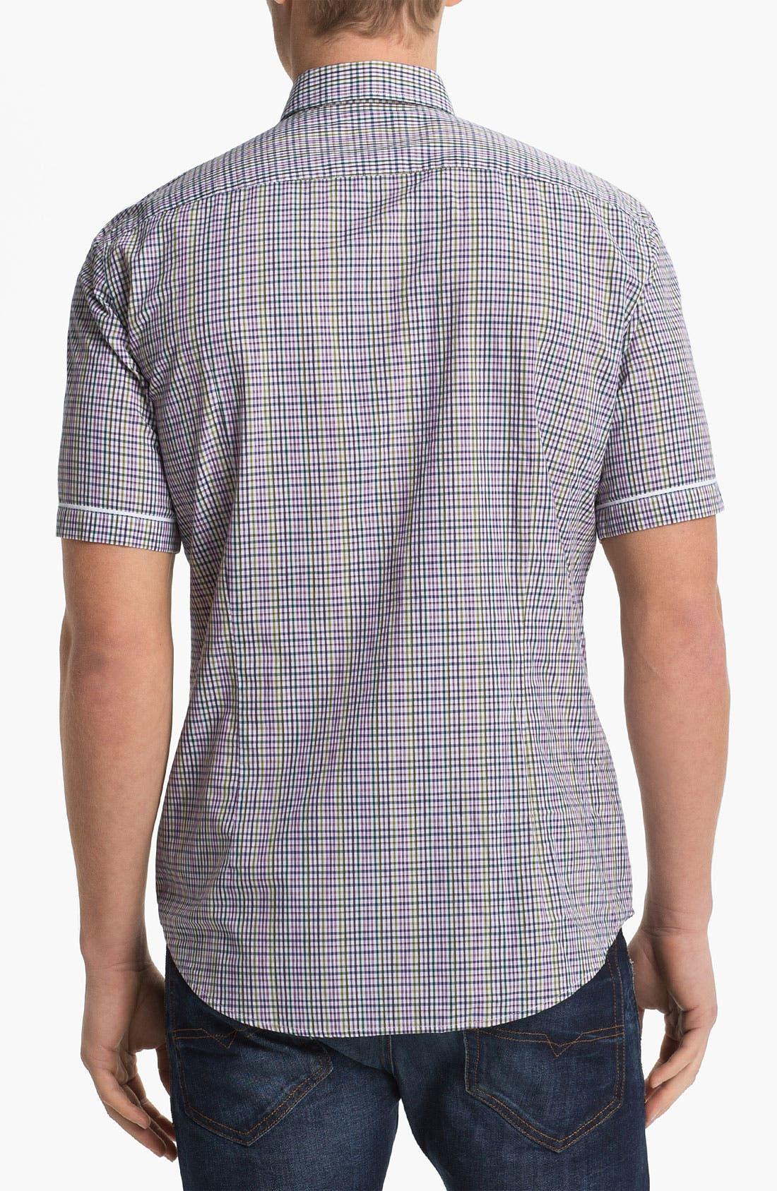 Alternate Image 2  - BOSS Black 'Ring 1' Slim Fit Sport Shirt