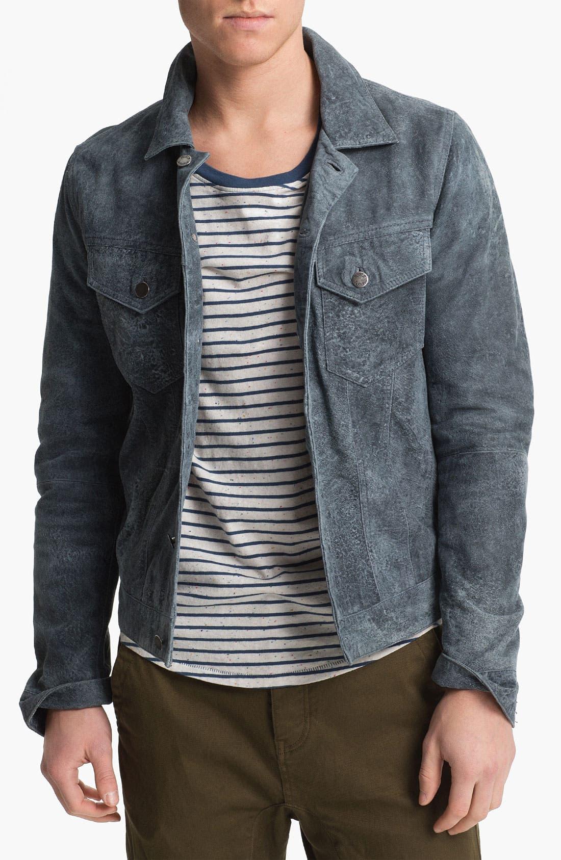 Main Image - Nudie 'Perry' Leather Jacket
