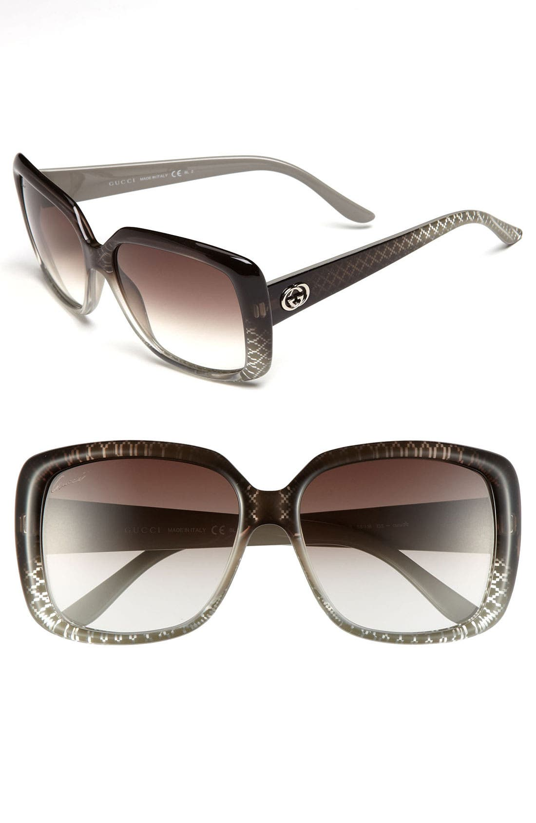 Main Image - Gucci 56mm Sunglasses