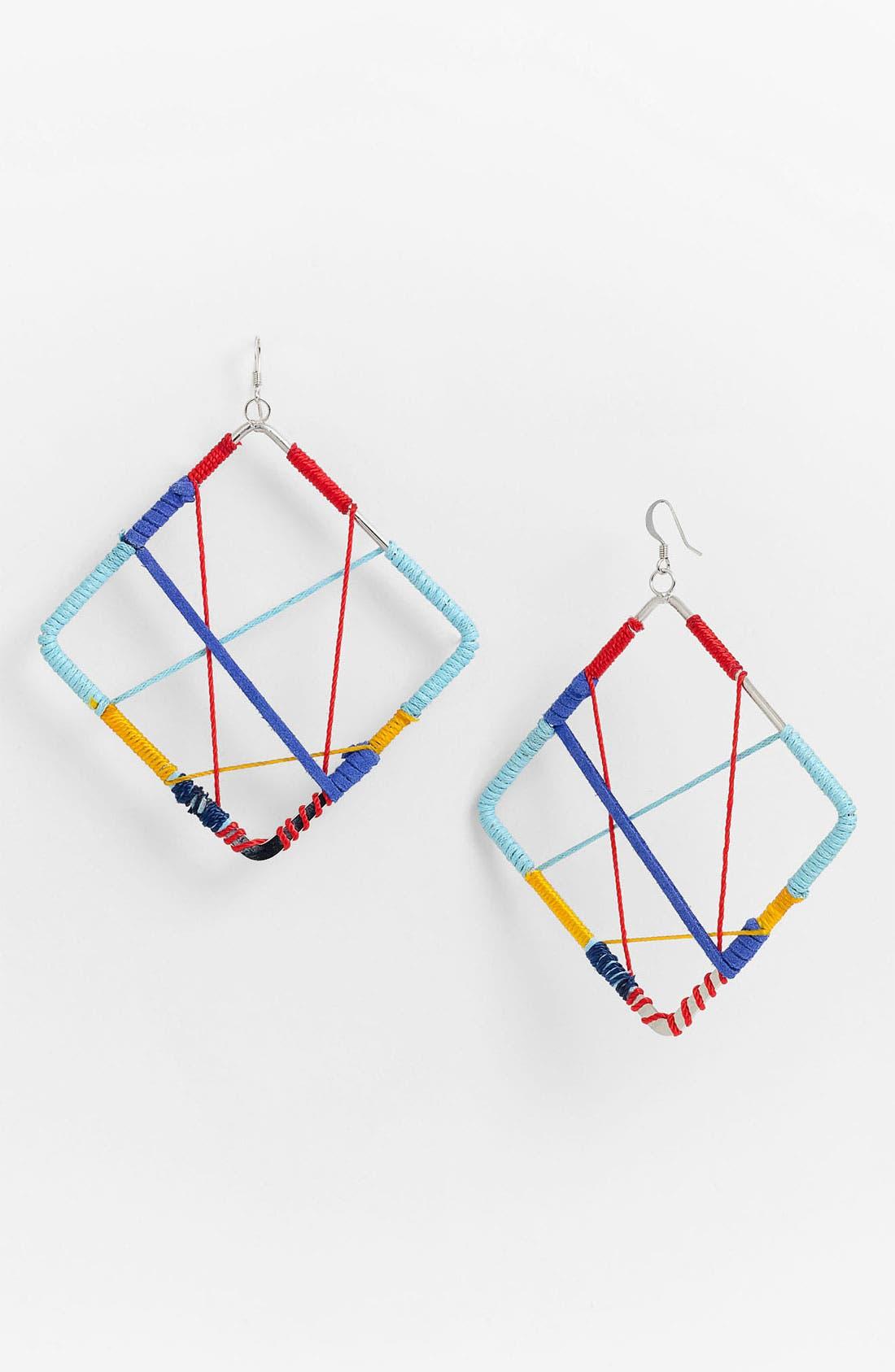 Alternate Image 1 Selected - Guinevere 'Lan Hoop' Earrings