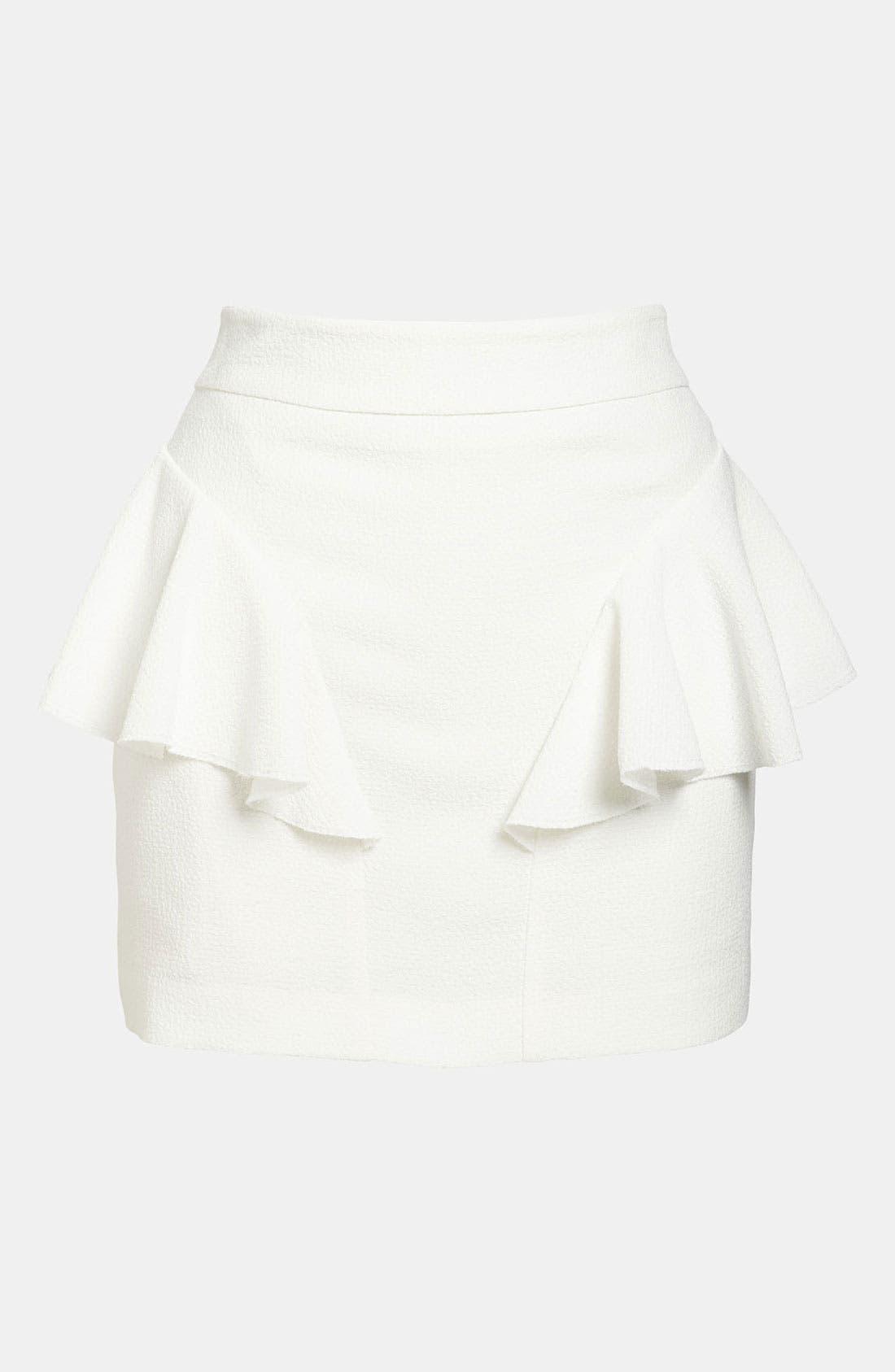 Main Image - Tildon Side Ruffle Skirt