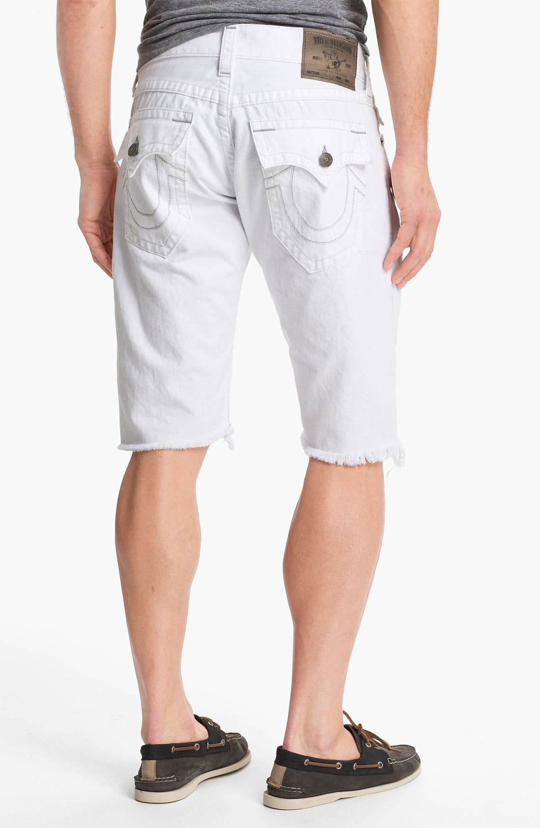 Main Image - True Religion Brand Jeans 'Ricky' Cutoff Denim Shorts
