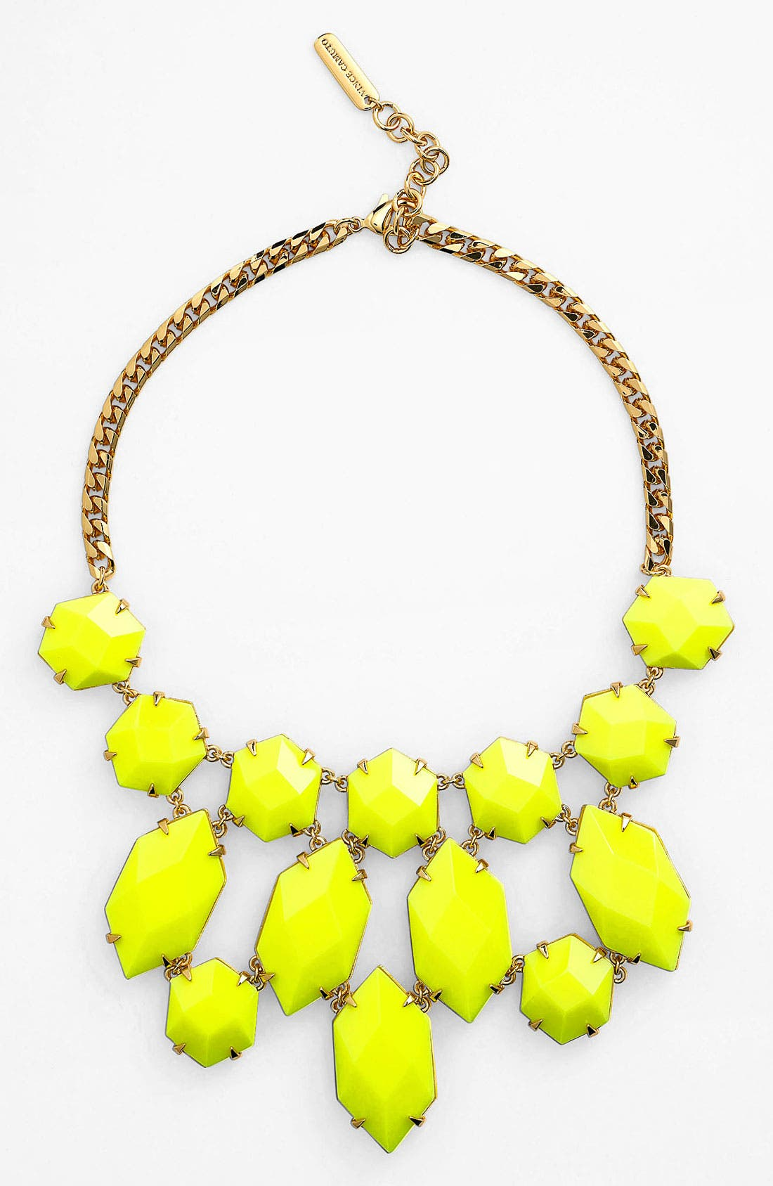 Main Image - Vince Camuto 'Bright Gems' Faceted Resin Bib Necklace