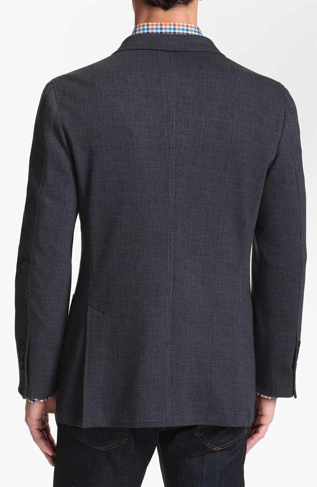 Alternate Image 2  - Joseph Abboud Cotton Blend Blazer