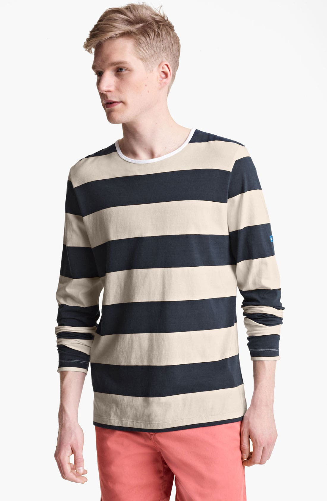 Alternate Image 1 Selected - Shipley & Halmos 'Staniel' Stripe Long Sleeve T-Shirt
