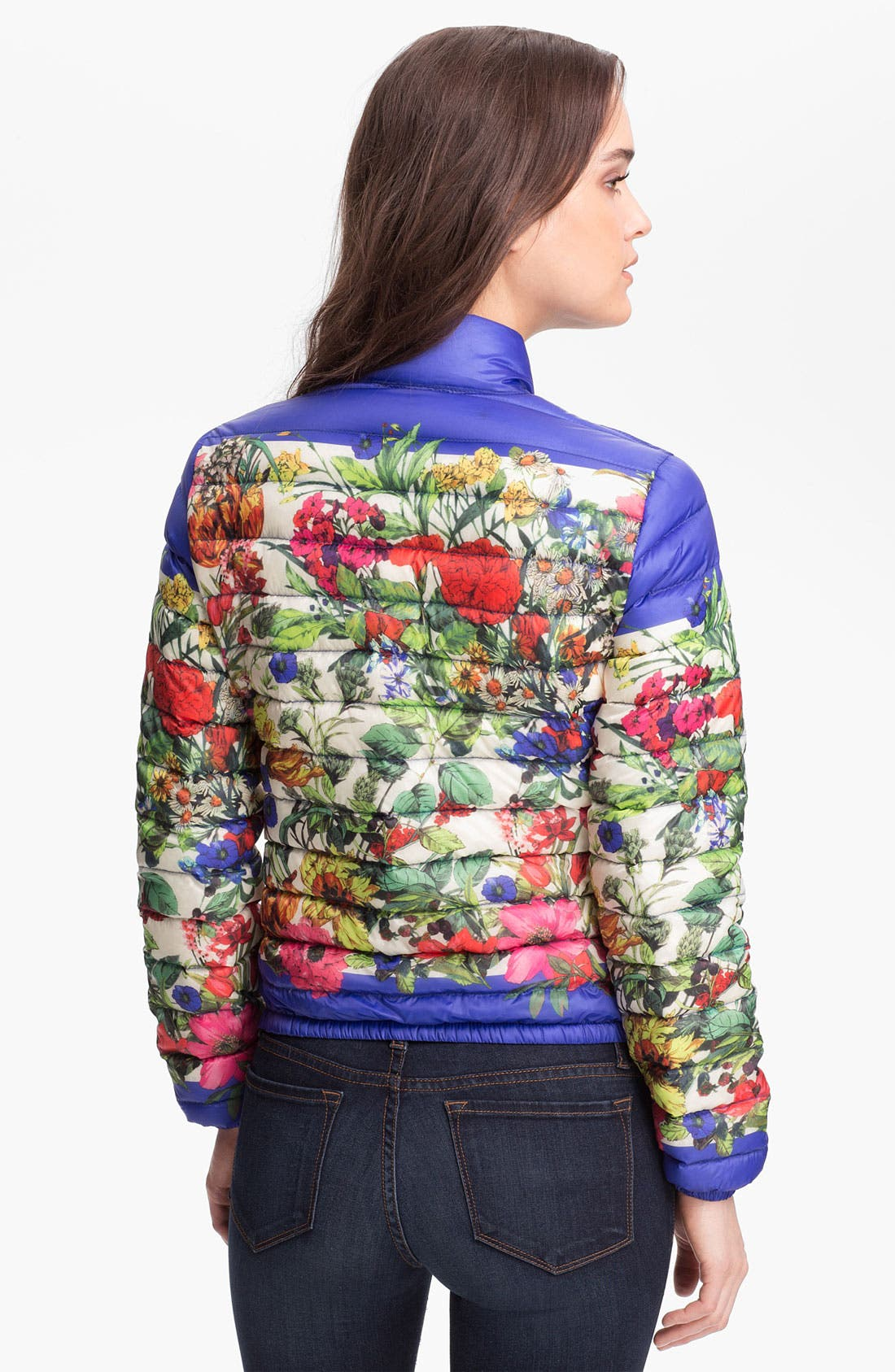 Alternate Image 2  - Moncler 'Alisia' Packable Floral Print Down Jacket