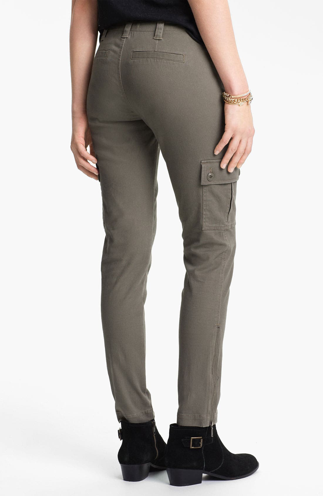 Alternate Image 3  - Fire Skinny Utility Pants (Juniors)