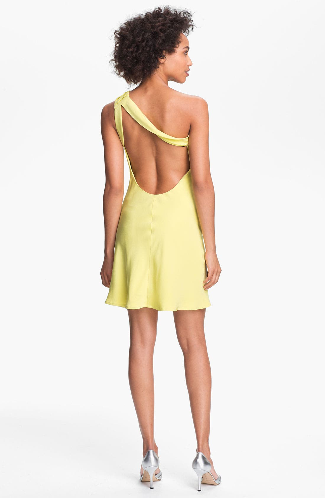 Alternate Image 2  - A.B.S. by Allen Schwartz Rosette One Shoulder Dress