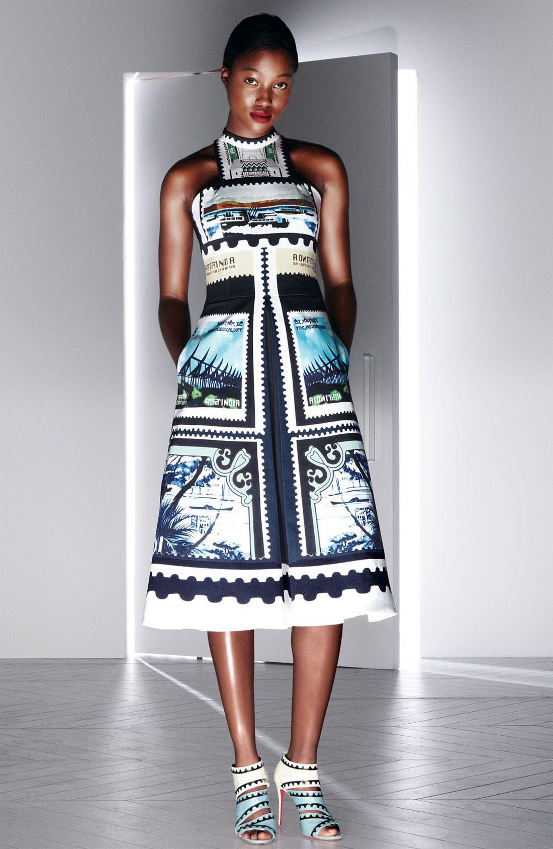 Alternate Image 4  - Mary Katrantzou 'Kathmandu Print' A-Line Dress