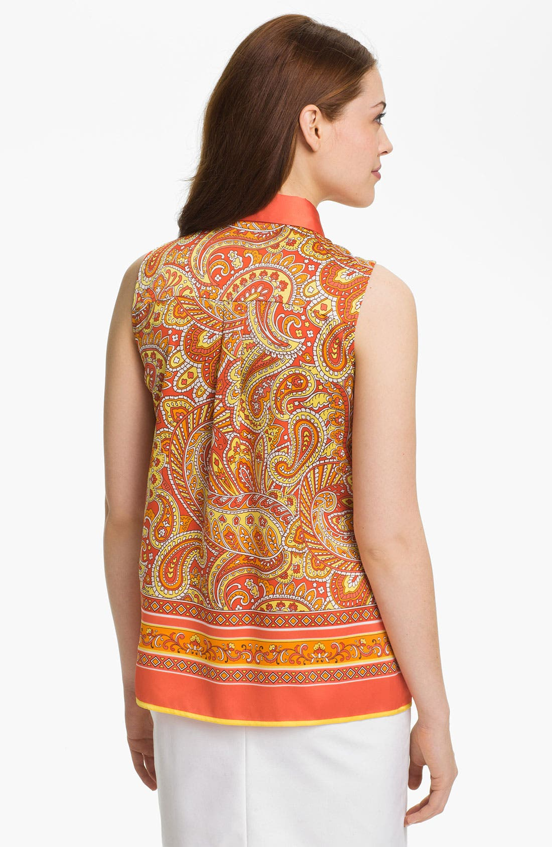 Alternate Image 2  - Vince Camuto Paisley Print Blouse