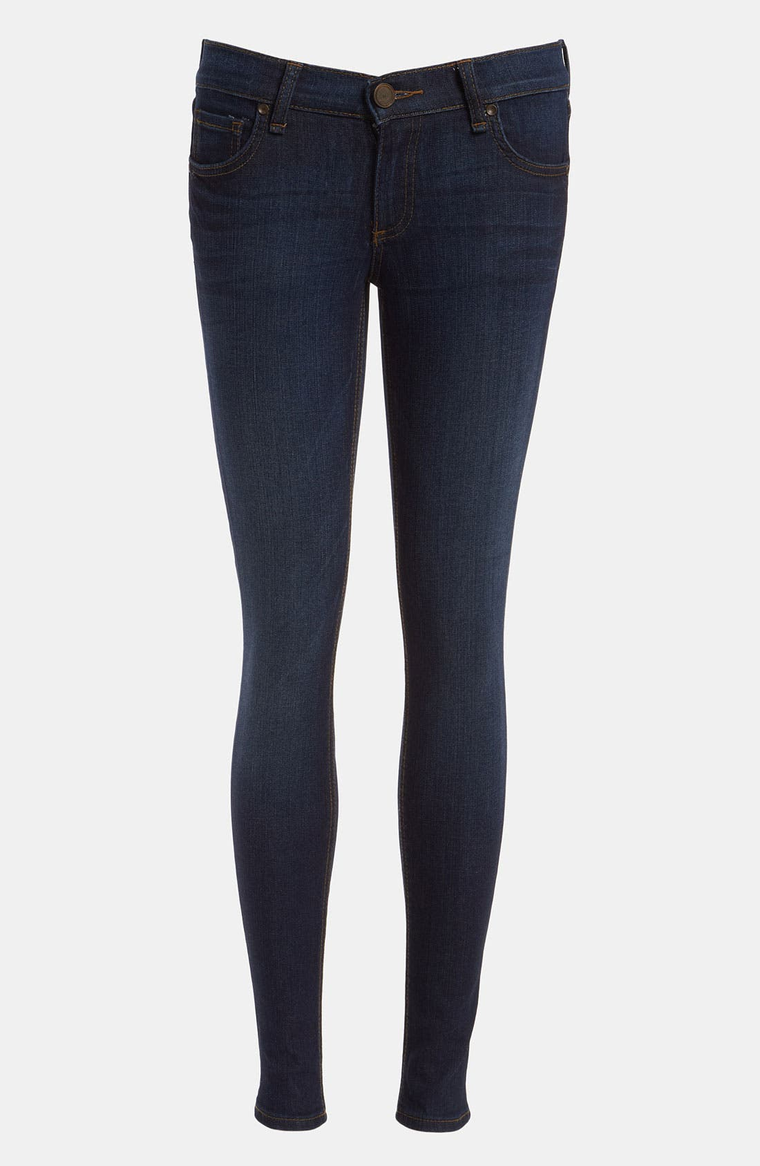 Main Image - edyson 'Sloan' Skinny Jeans (Dark Atlantic)
