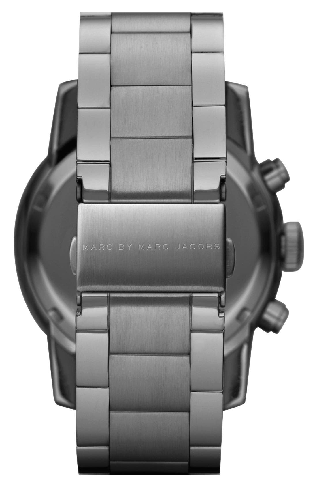 Alternate Image 3  - MARC BY MARC JACOBS 'Larry' Chronograph Bracelet Watch