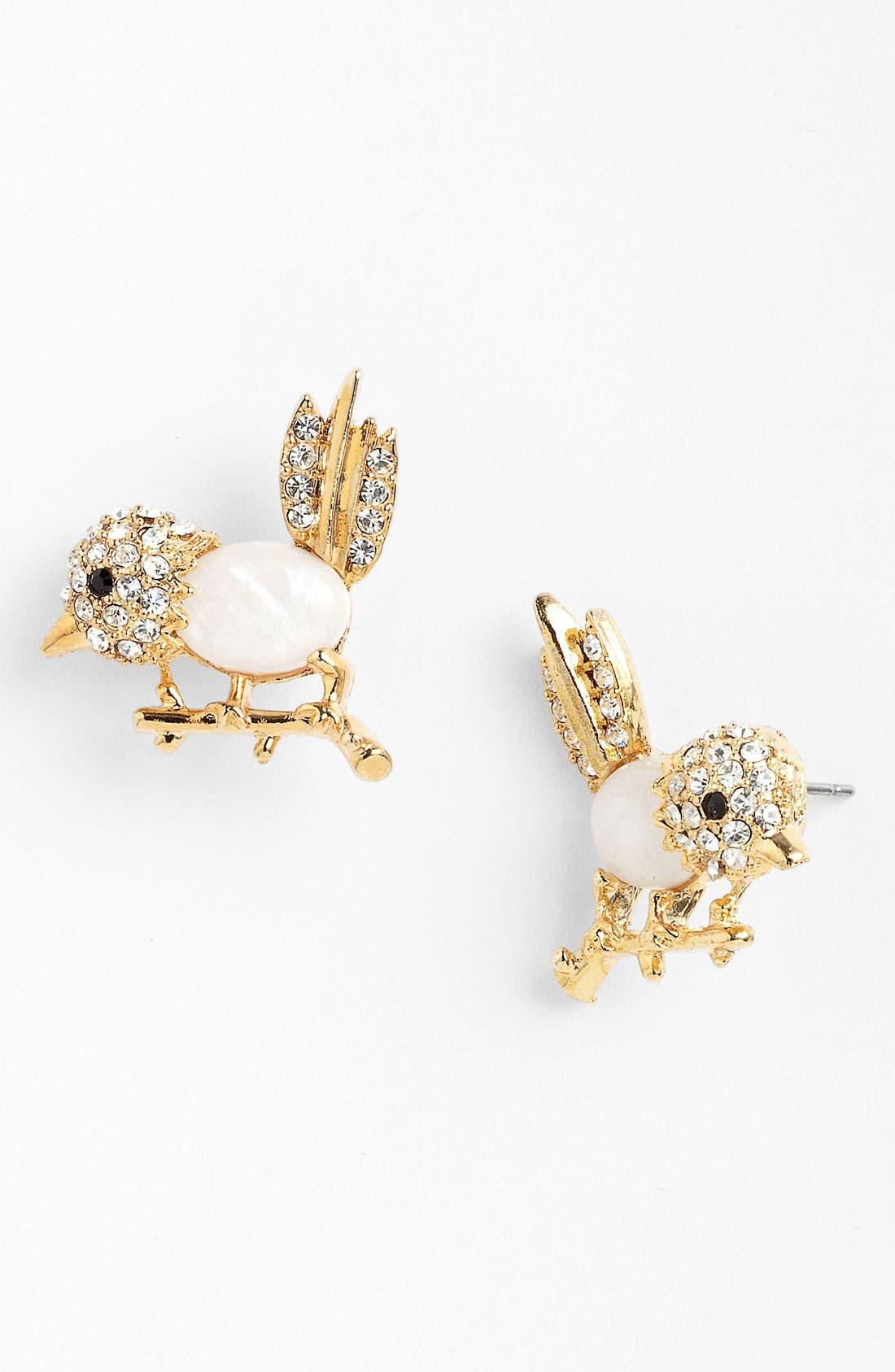 Alternate Image 1 Selected - Cara Bird Stud Earrings