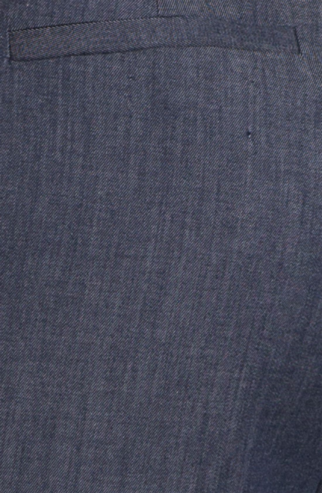 Alternate Image 3  - Halogen® Wide Leg Denim Pants