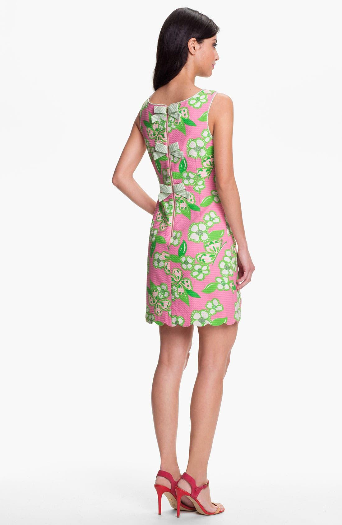 Alternate Image 2  - Lilly Pulitzer® 'Nina' Print Jacquard Cotton Dress
