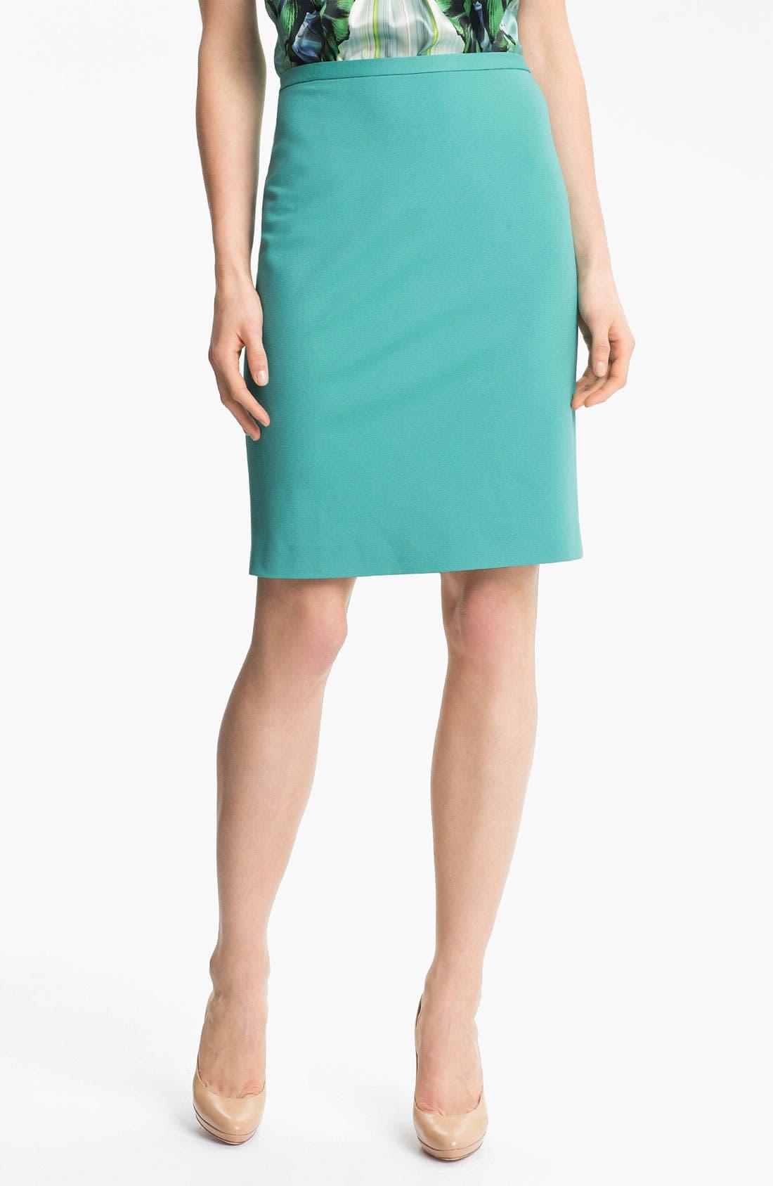 Alternate Image 1 Selected - Elie Tahari 'Kim' Jersey Skirt
